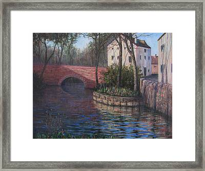 Chartres Framed Print by Elaine Monnig