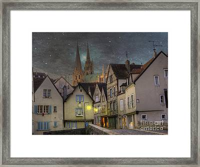 Chartres France Framed Print by Juli Scalzi