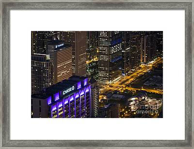 Chase Framed Print by Andrea Silies