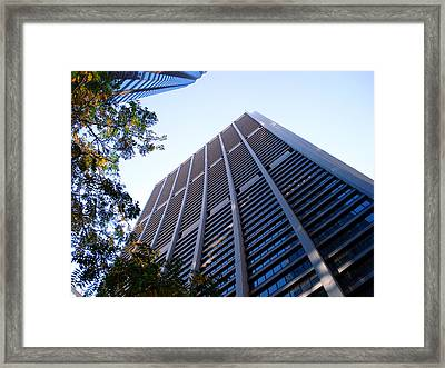 Chase Tower Chicago Framed Print by DB Artist