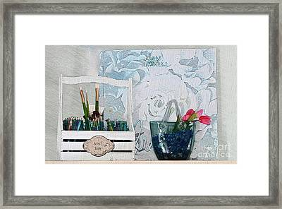 Chase Your Dreams And Create Framed Print
