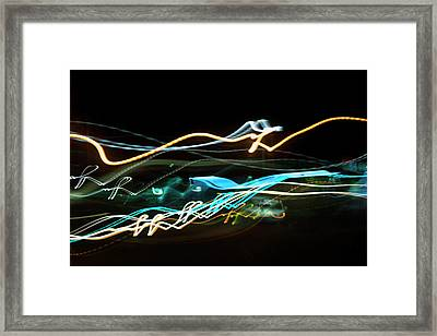 Chasing Cars Framed Print