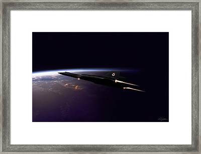 Chasing Daylight Framed Print by Peter Chilelli