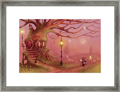 Chasing Fairies Framed Print