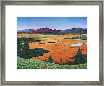 Chasing Heaven Framed Print