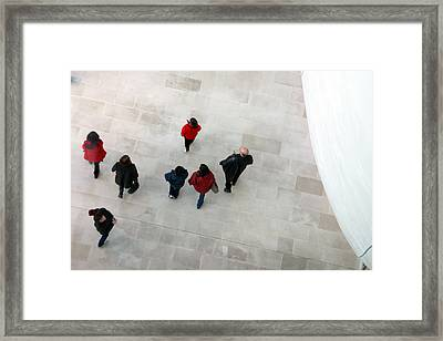 Chasing Life Framed Print by Jez C Self