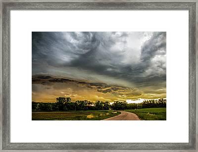 Chasing Nebraska Stormscapes 074 Framed Print