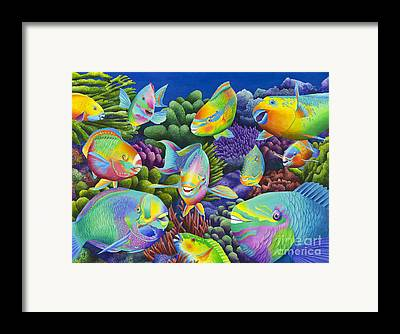 Fishy Framed Prints