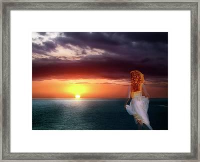 Chasing The Dream Framed Print