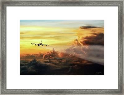 Chasing Twilight Framed Print