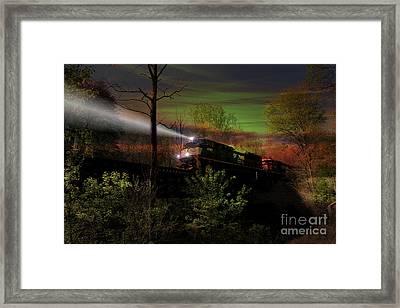 Chasing Twilight Framed Print