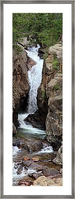 Chasm Falls 2 - Panorama Framed Print