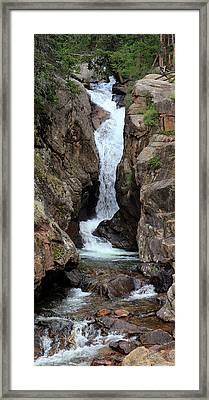 Chasm Falls - Panorama Framed Print