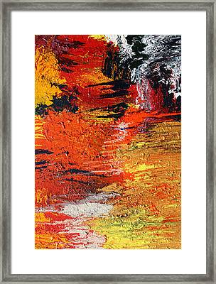 Chasm Framed Print by Ralph White