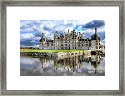 Chateau De Chambord Framed Print by Olivier Le Queinec
