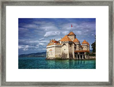 Chateau De Chillon Montreux Switzerland  Framed Print