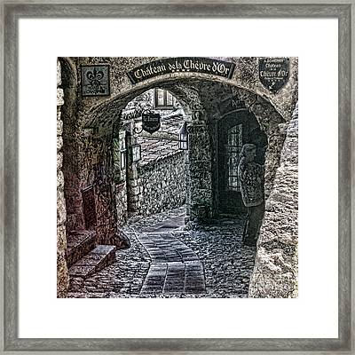 Chateau De La Chevre D'or Framed Print by Tom Prendergast