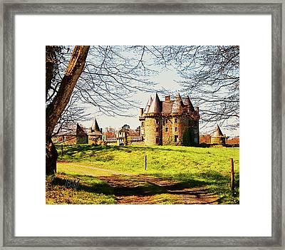 Chateau De Landale Framed Print