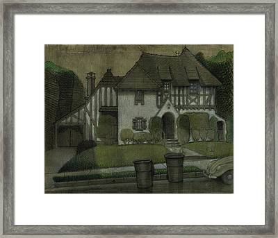 Chateau In The City Framed Print