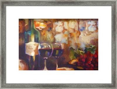 Chateau Lafite Rothschild Framed Print by David Millenheft
