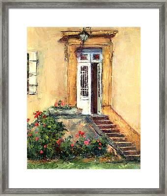 Chateau Le Pinacle Framed Print by Jill Musser
