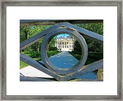 Chateau Margaux Framed Print