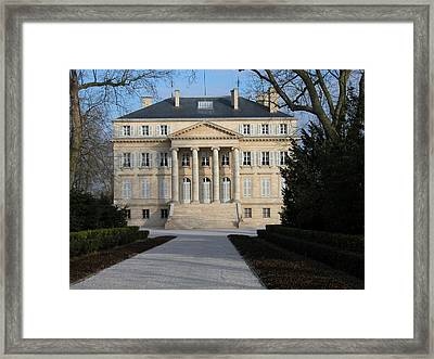 Chateau Margaux Framed Print