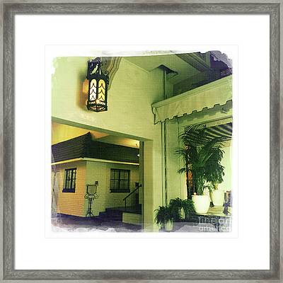 Chateau Marmont Framed Print