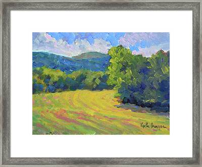 Chateau Meichtry View Framed Print