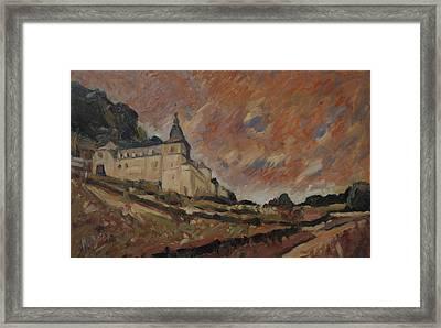 Chateau Neercanne Maastricht Framed Print