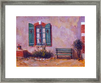 Chateau Pioget  Loire Valley France Framed Print by David Olander
