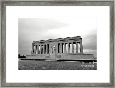 Chateau Thierry American Monument Framed Print