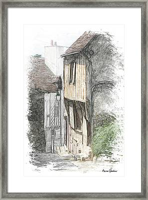 Chateaudun Framed Print