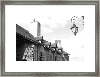 Chateaudun Streets Framed Print by Jez C Self