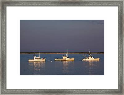 Chatham Bay Framed Print by Nick  Shirghio