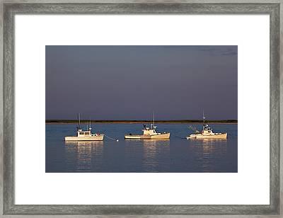 Chatham Bay Framed Print