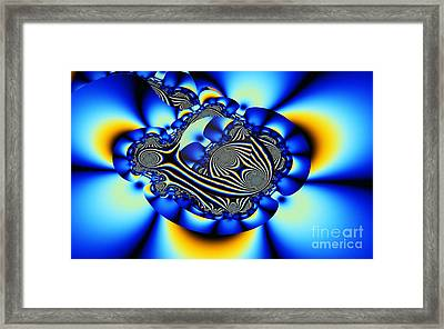 Chatham Blue 2 Framed Print by Ron Bissett