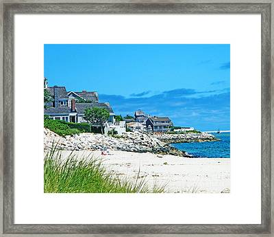 Chatham Cape Cod Framed Print