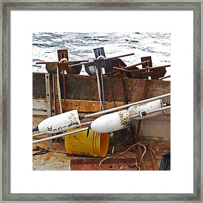 Framed Print featuring the photograph Chatham Fishing by Charles Harden