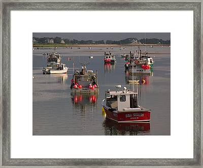 Chatham Harbor Framed Print by Juergen Roth