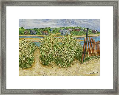 Chatham Port Framed Print