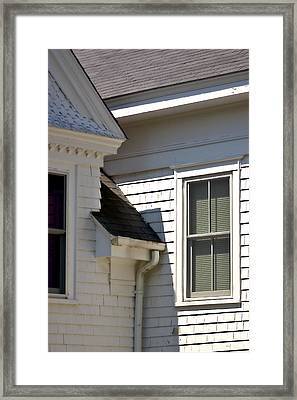 Framed Print featuring the photograph Chatham Window by Larry Darnell