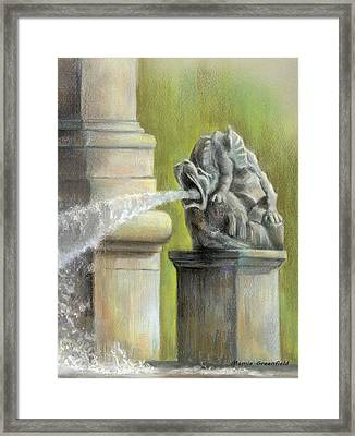Chatsworth Gargoyle Framed Print