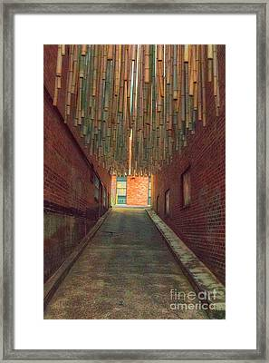 Chattanooga Alley Framed Print