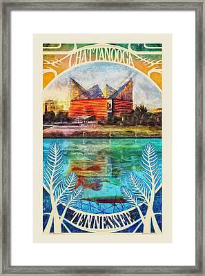Chattanooga Aquarium Poster Framed Print by Steven Llorca