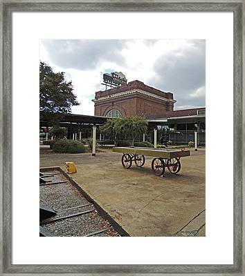 Chattanooga Choo Choo Historic Hotel Site Framed Print by Marian Bell