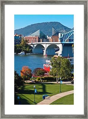 Chattanooga Landmarks Framed Print