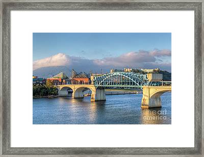 Chattanooga Market Street Bridge IIi Framed Print by Clarence Holmes