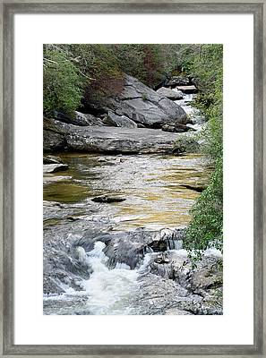 Chattooga River In Sc Framed Print by Bruce Gourley