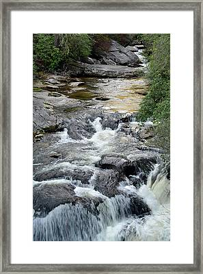 Chattooga River In South Carolina Framed Print by Bruce Gourley